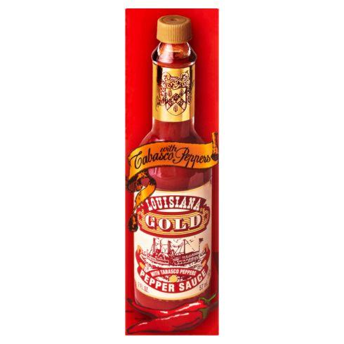 Gold Louisiana Oryginalny sos chili z papryki tabasco 57 ml