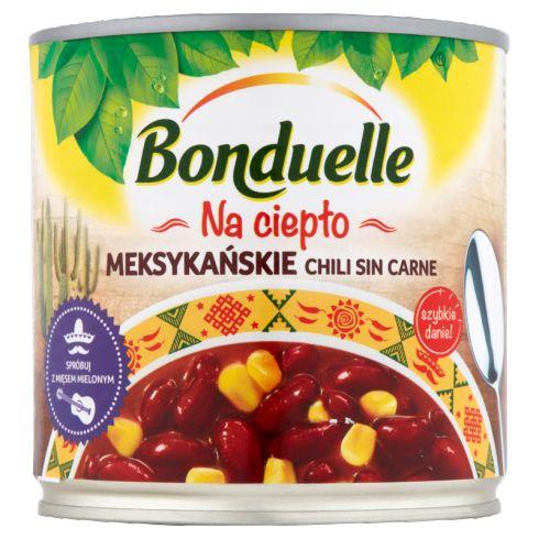 Bonduelle Na ciepło Meksykańskie chili sin carne 430 g