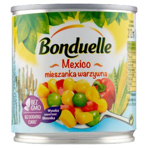 Bonduelle Mexico Mieszanka warzywna 170 g