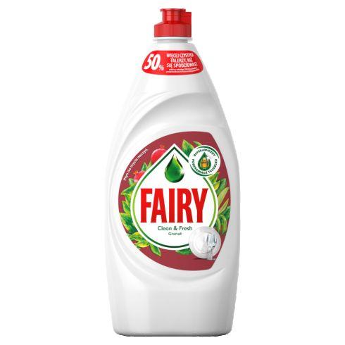 Fairy Clean & Fresh Granat Płyn do mycia naczyń 900 ml