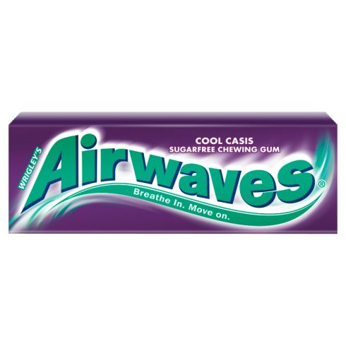 Airwaves Cool Cassis Guma do żucia bez cukru 14 g