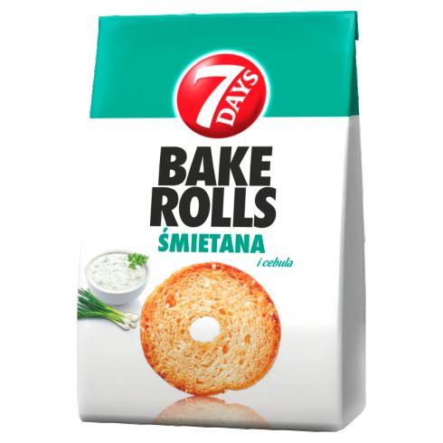 7 Days Bake Rolls Chrupki chlebowe 160 g