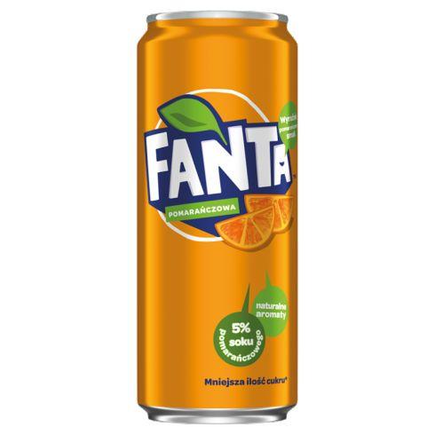 Fanta Pomarańczowa Napój gazowany 330 ml