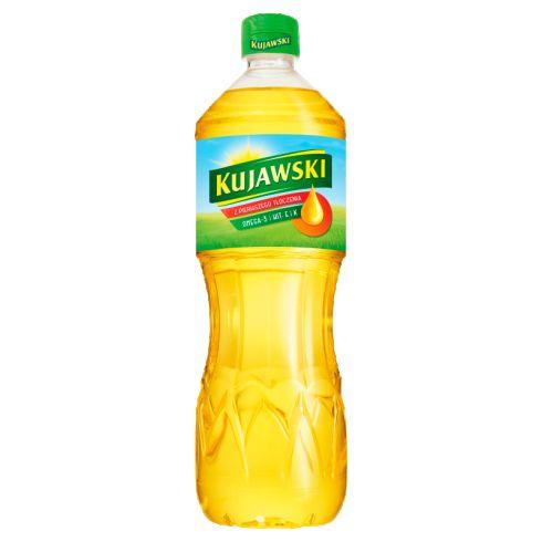 Kujawski Olej rzepakowy z pier. tłoczenia 1 l