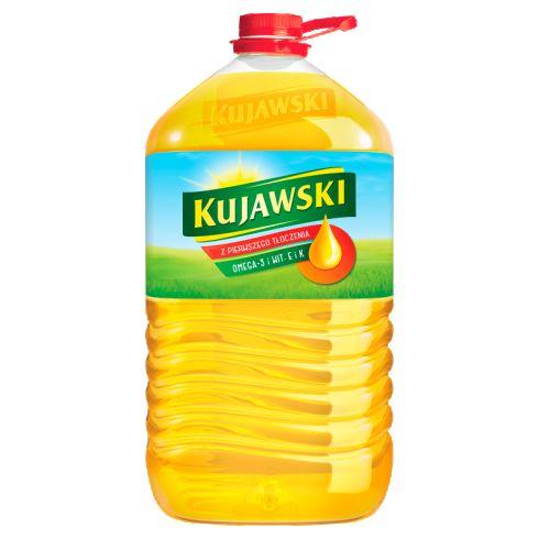 Kujawski Olej rzepakowy z pierwszego tłoczenia 5 l