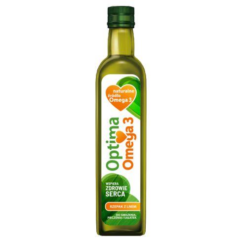 Optima Omega 3 Olej rzepakowy z olejem lnianym 500 ml