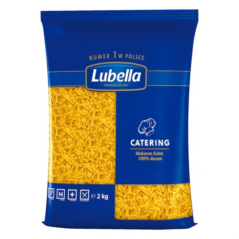 Lubella Catering Makaron świderki 2 kg