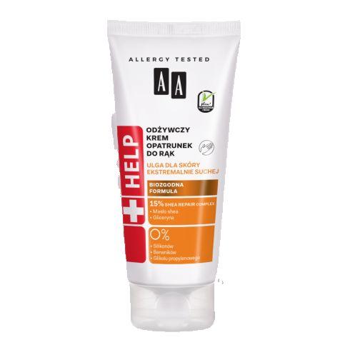 AA Help odżywczy krem-opatrunek do rąk 75 ml