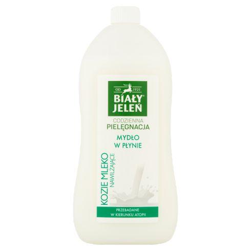 Biały Jeleń Mydło w płynie kozie mleko nawilżające 1 l
