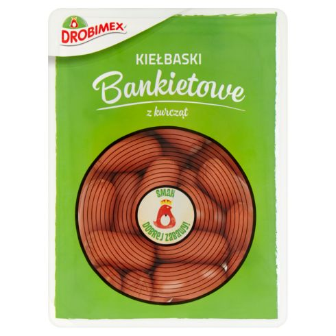 Drobimex Kiełbaski bankietowe z kurcząt 400 g