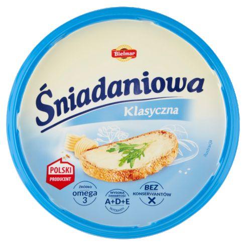 Bielmar Śniadaniowa Margaryna o zmniejszonej zawartości tłuszczu klasyczna 450 g