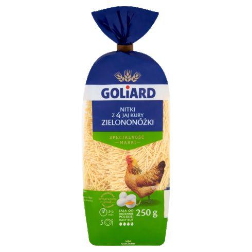 Goliard Makaron z 4 jaj kury zielononóżki nitki 250 g