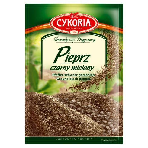 Cykoria Aromatyczne Przyprawy Pieprz czarny mielony 20 g