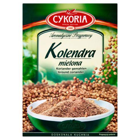 Cykoria Aromatyczne Przyprawy Kolendra mielona 20 g