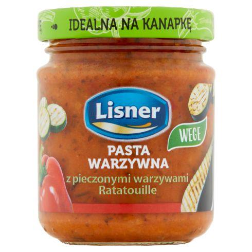 Lisner Pasta warzywna z pieczonymi warzywami Ratatouille 110 g