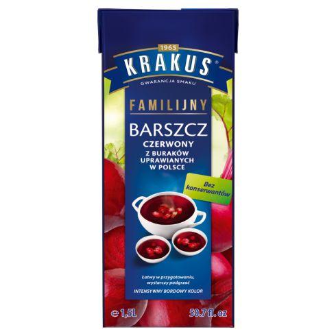 Krakus Barszcz czerwony familijny 1,5 l