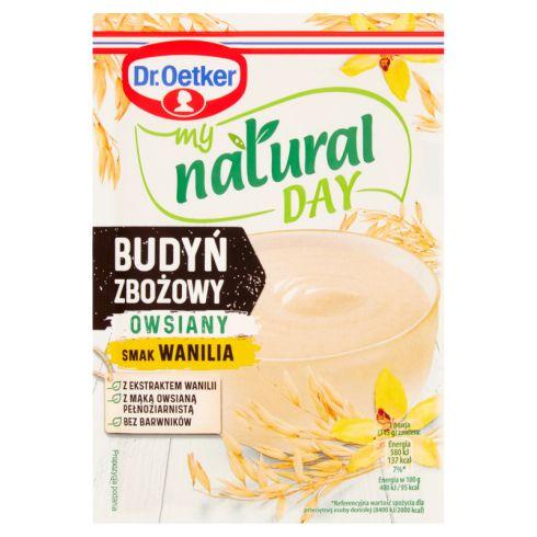 Dr. Oetker My Natural Day Budyń zbożowy owsiany smak wanilia 50 g
