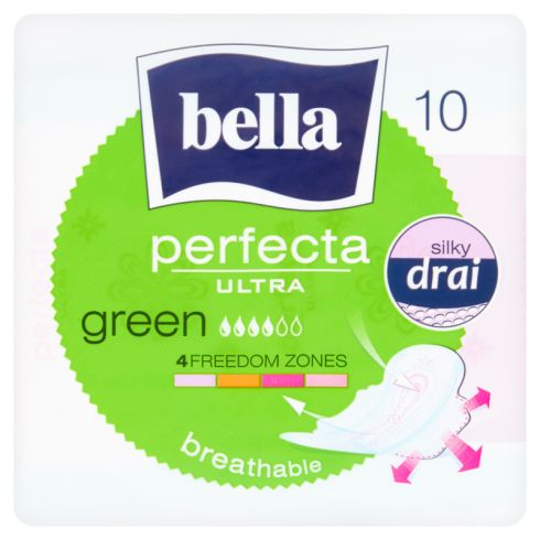 BELLA PERFECTA ULTRA GREEN  PODPASKI X10