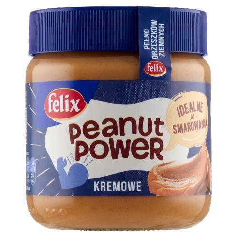 Felix Peanut Power Kremowe Krem orzechowy 350 g