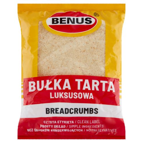 Benus Bułka tarta luksusowa 400 g