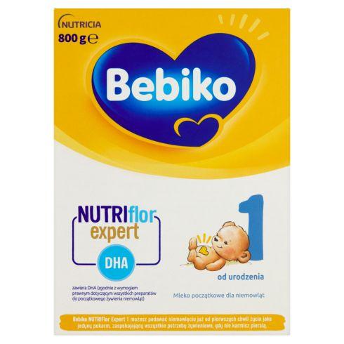 Bebiko 1 Mleko początkowe dla niemowląt od urodzenia 800 g