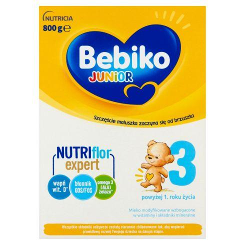 Bebiko Junior 3 Mleko modyfikowane dla dzieci powyżej 1. roku życia 800 g (2 x 400 g)