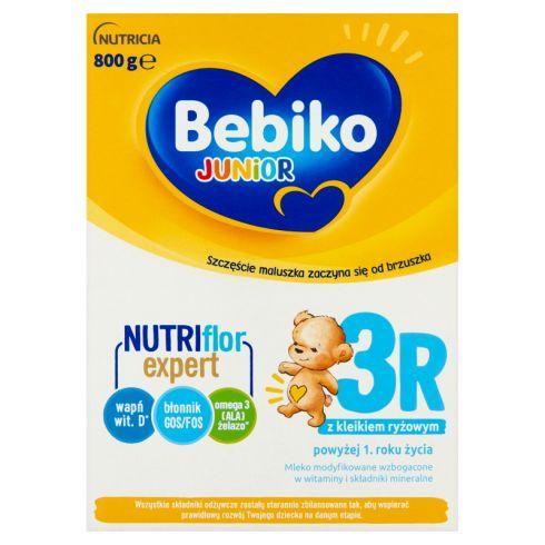 Bebiko Junior 3R Mleko modyfikowane dla dzieci powyżej 1. roku życia 800 g