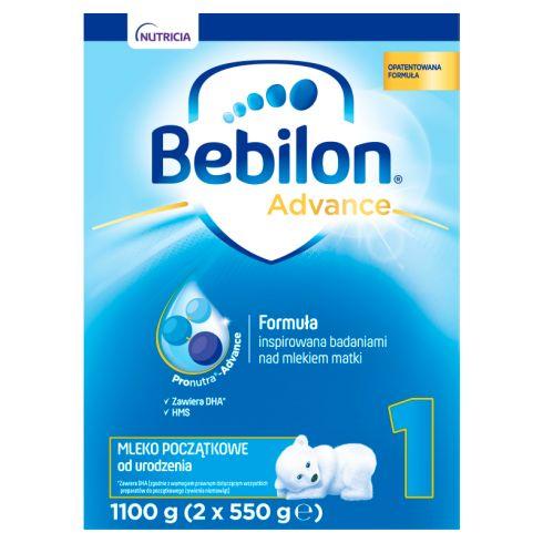 Bebilon 1 Pronutra-Advance Mleko początkowe od urodzenia 1100 g