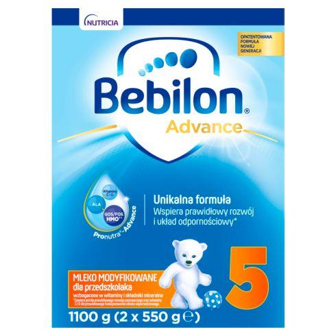 Bebilon 5 Pronutra-Advance Mleko modyfikowane dla przedszkolaka 1100 g