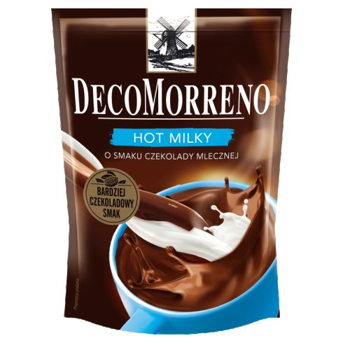 DecoMorreno Hot Milky Napój instant o smaku czekolady mlecznej 150 g