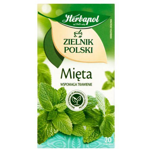Herbapol Zielnik Polski Herbatka ziołowa mięta 40 g