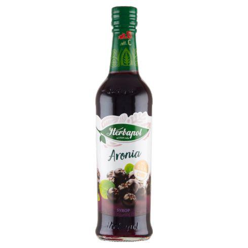 Herbapol Suplement diety syrop o smaku aroniowym 420 ml