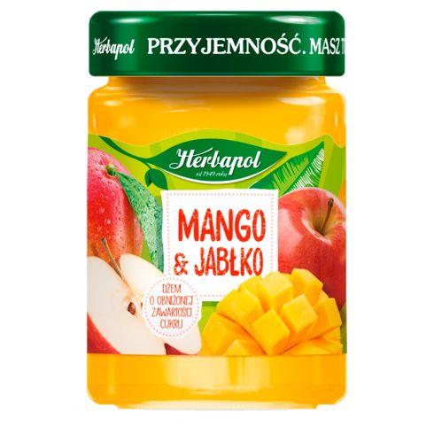 Herbapol Dżem o obniżonej zawartości cukru mango & jabłko 280 g