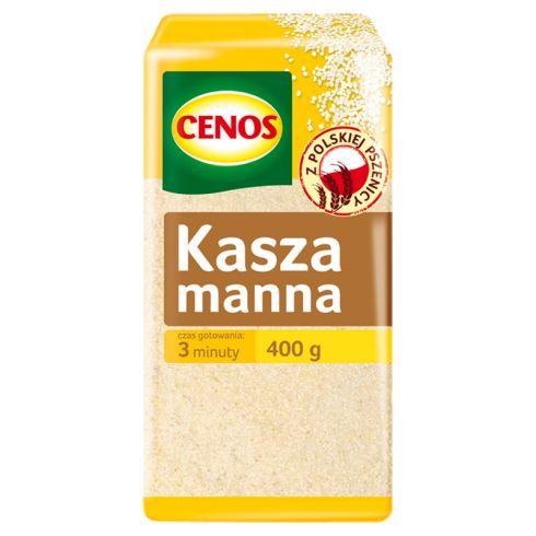 Cenos Kasza manna 400 g