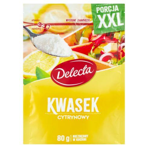 Delecta Kwasek cytrynowy 80 g
