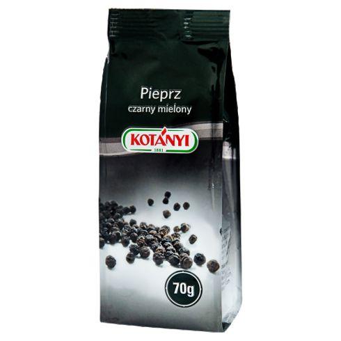 Kotányi Pieprz czarny mielony 70 g
