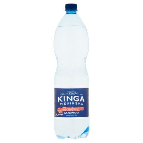 Kinga Pienińska Naturalna woda mineralna gazowana niskosodowa 1,5 l