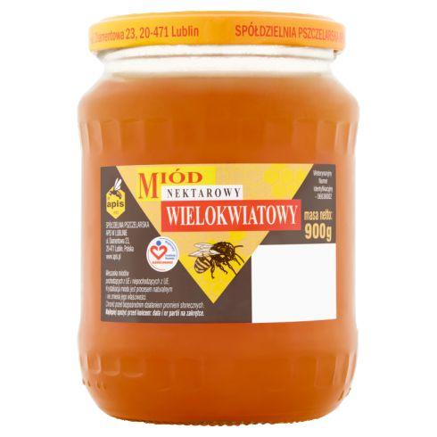 Apis Miód nektarowy wielokwiatowy 900 g