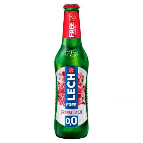 Lech Free Piwo bezalkoholowe granat i acai 330 ml