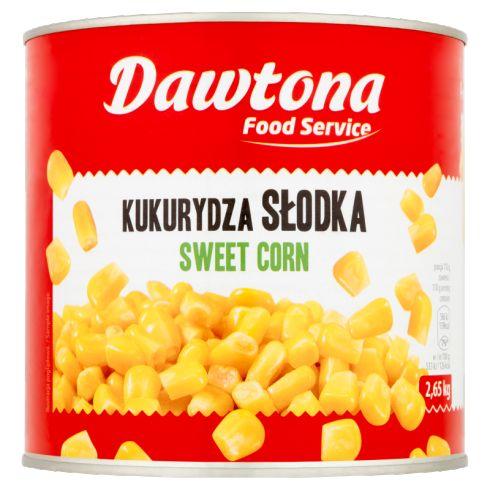 Dawtona Food Service Kukurydza słodka 2,65 kg