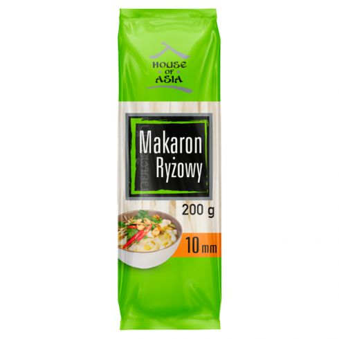 House of Asia Bezglutenowy makaron ryżowy 10 mm 200 g