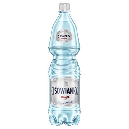 Cisowianka Naturalna woda mineralna lekko gazowana niskosodowa 1,5 l