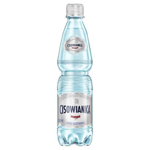Cisowianka Naturalna woda mineralna lekko gazowana niskosodowa 500 ml