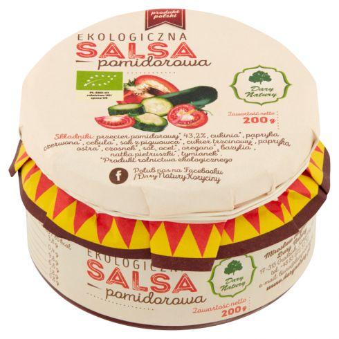 Dary Natury Ekologiczna salsa pomidorowa 200 g