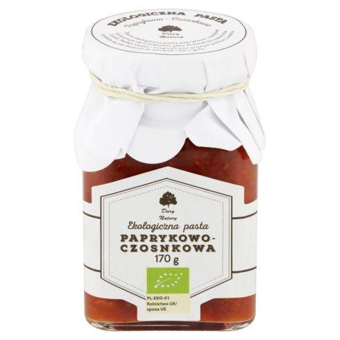 Dary Natury Ekologiczna pasta paprykowo-czosnkowa 170 g