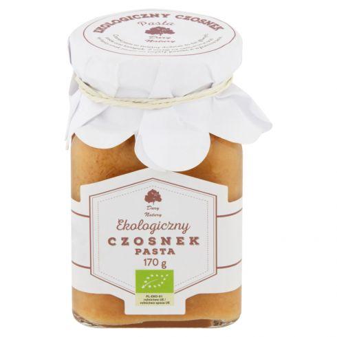 Dary Natury Ekologiczny czosnek pasta 170 g