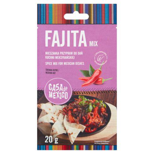 Casa de Mexico Mieszanka przypraw do Fajita 20 g