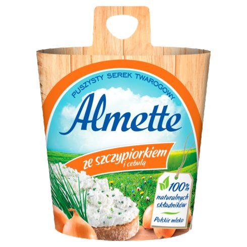 Almette ze szczypiorkiem i cebulą 150 g
