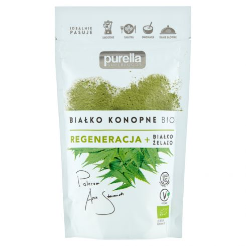 Purella Superfoods Białko konopne Bio 45 g