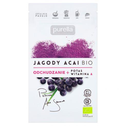 Purella Superfoods Jagody acai Bio 21 g